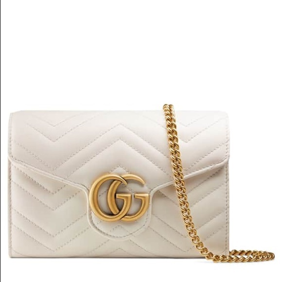 8a403600fed2 Gucci Bags | Sold Gg Marmont White Mini Bag | Poshmark
